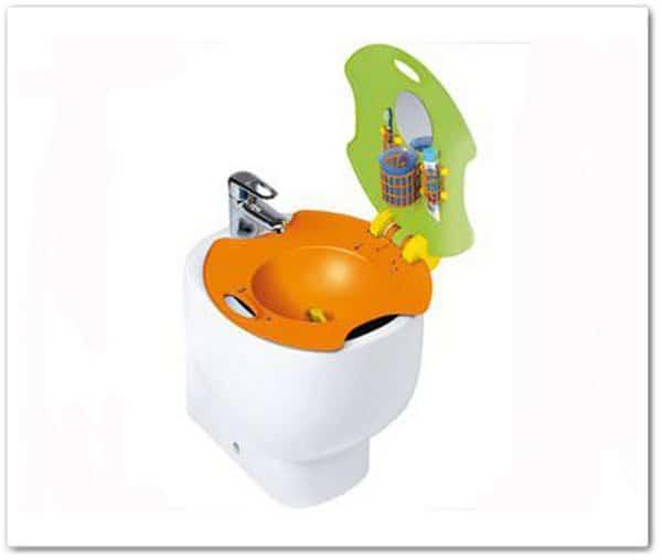 Puericultura: lavabos para niños