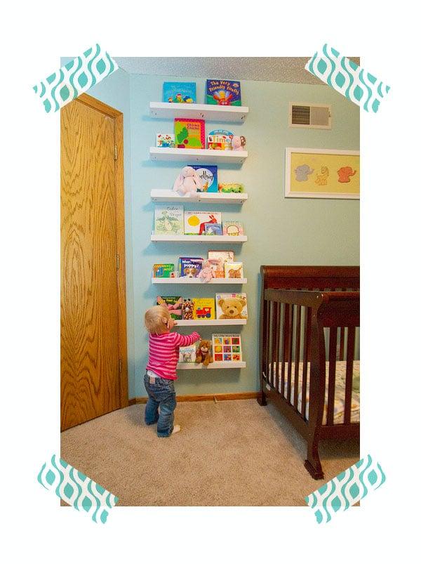 10 librerías originales para la habitación infantil   pequeocio
