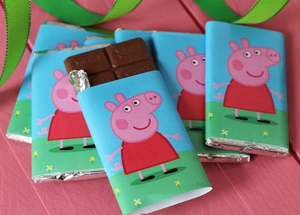 peppa pig fiesta infantil