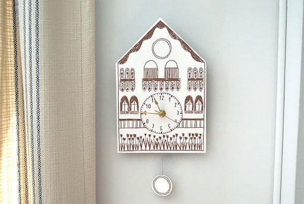 un reloj cucú para imprimir gratis