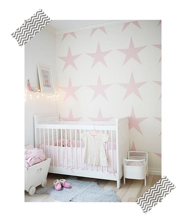 Decorar la habitaci n infantil con stencil pequeocio - Ideas para pintar habitaciones ...
