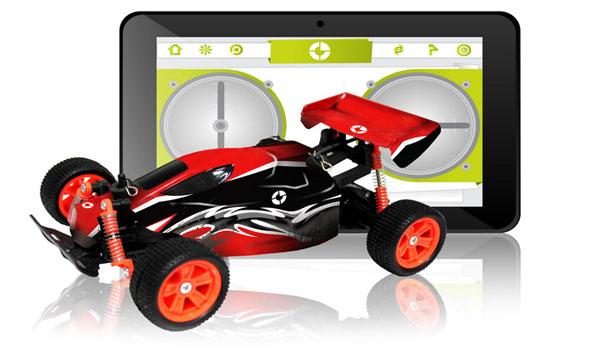 tablet infantil coche rc