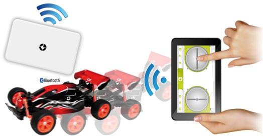tablet niños coche rc