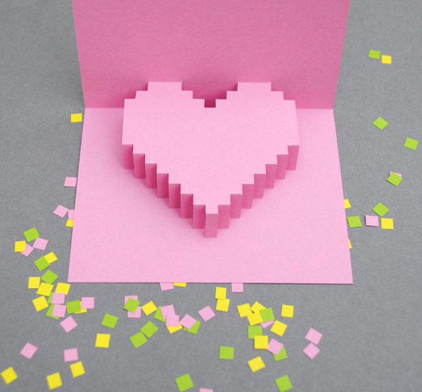 Una Tarjeta Para San Valentín Muy Original Pequeociocom