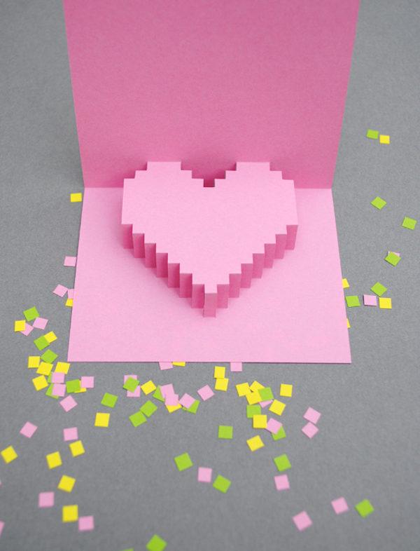 tarjeta para san valentín muy original