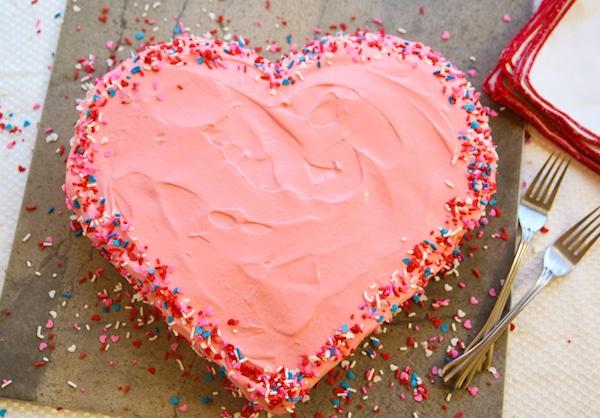 torta de corazón fácil paso a paso