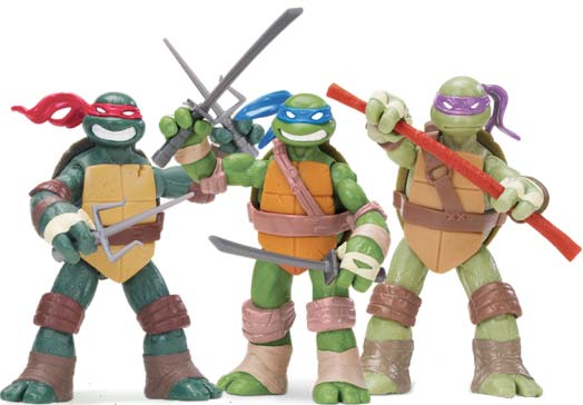 Tortugas Ninja juguetes