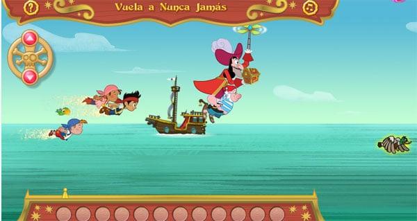 Juegos online de Jake y los piratas