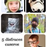 5 disfraces caseros para niños