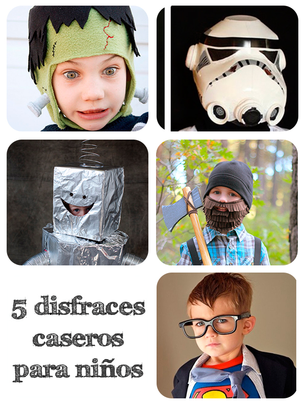 5 disfraces caseros para ni os pequeocio - Disfraces originales hechos en casa ...