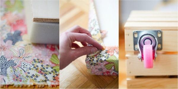 cómo hacer un juguetero casero