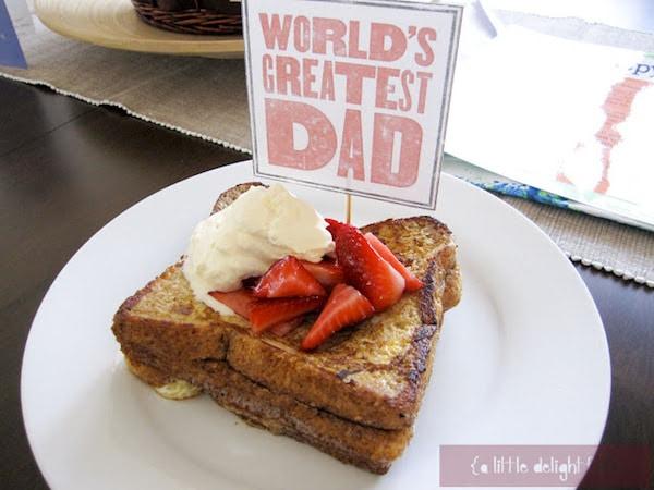 ideas para desayunos del dia del padre
