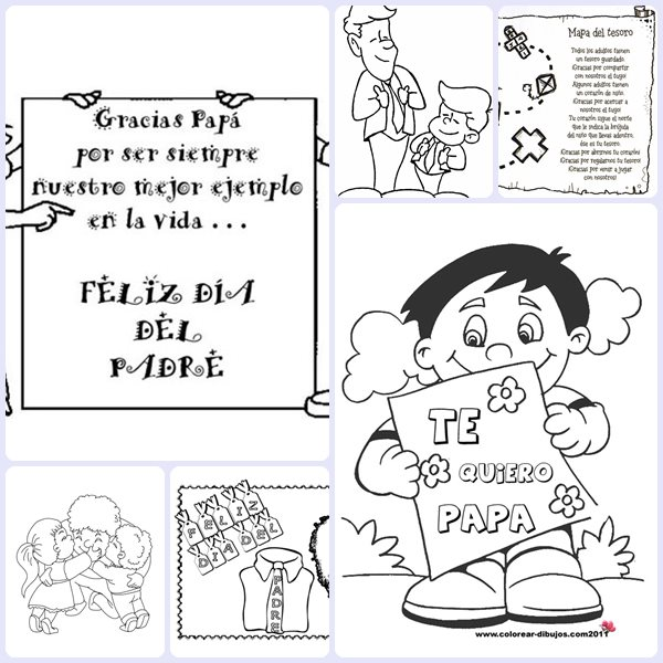 6 Dibujos Para El Día Del Padre Pequeociocom