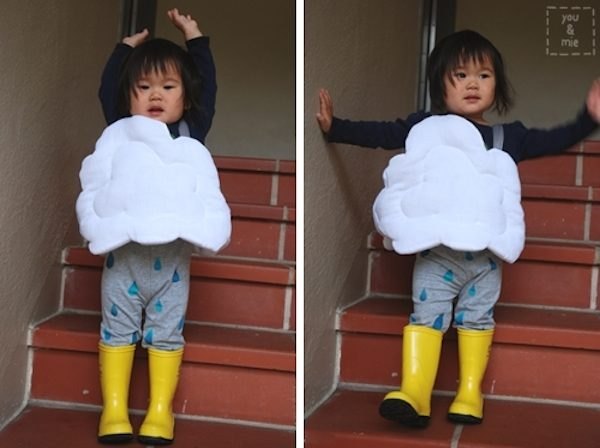 disfraces caseros originales una nube