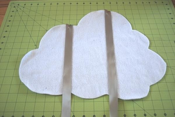 Disfraz casero muy original una nube - Como hacer una nube ...