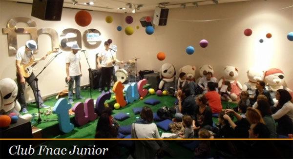 Talleres infantiles de Club fnac junior