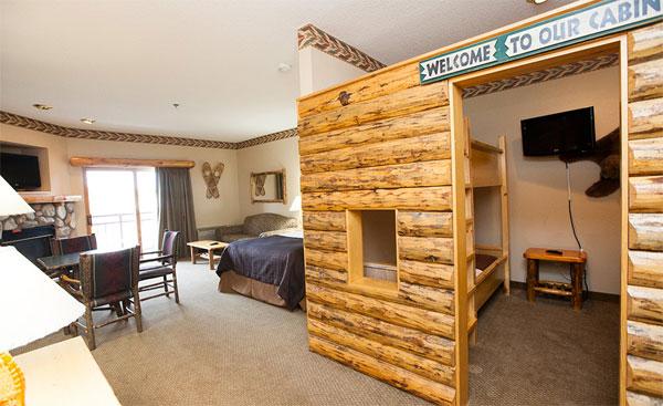 Dormir en una cabaña... ¡en Washington!