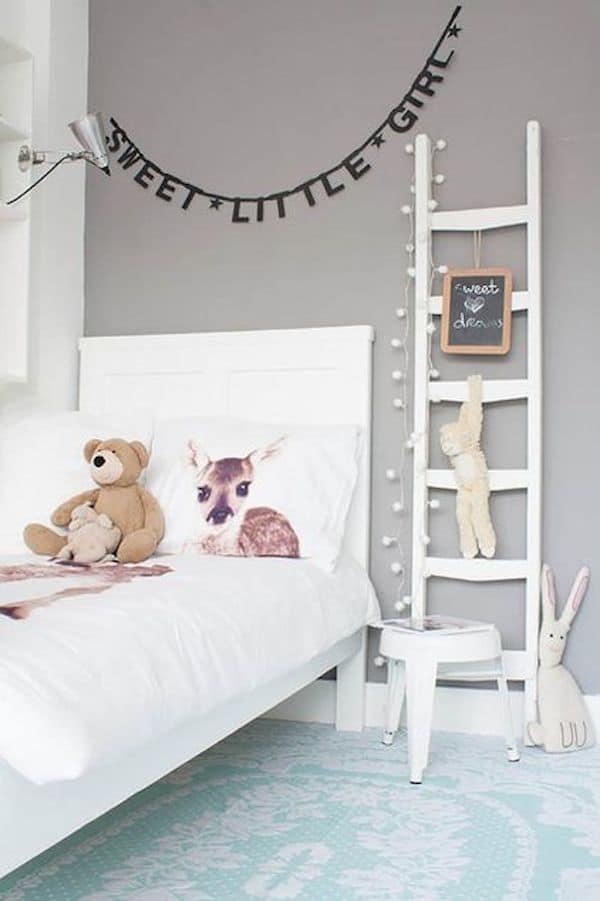 7 habitaciones infantiles decoradas con guirnaldas pequeocio - Habitaciones infantiles decoradas ...