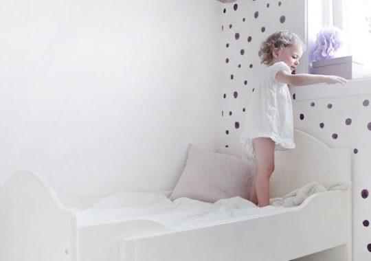 habitaciones infantiles decoradas con lunares