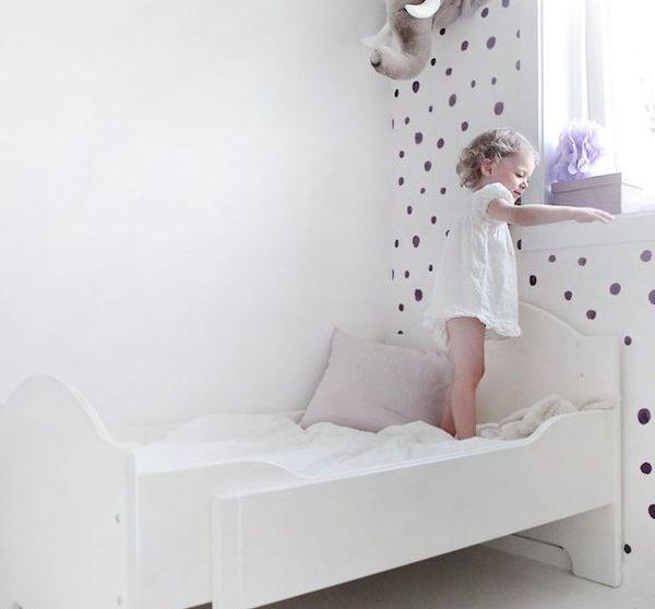 8 habitaciones infantiles decoradas con lunares | Pequeocio.com