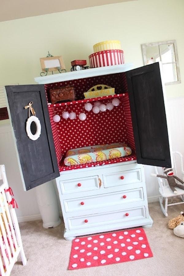 lunares en la decoración infantil