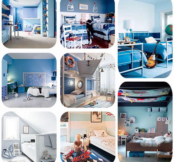 755d5de1be64 8 habitaciones infantiles en azul | Pequeocio.com