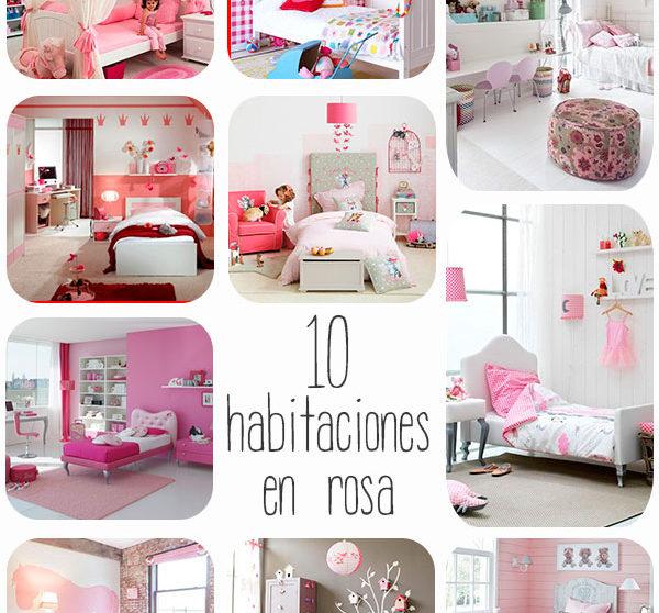 Habitaciones Infantiles Color Lila.10 Habitaciones Infantiles En Rosa Pequeocio Com
