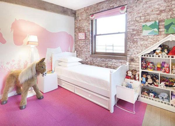 10 habitaciones infantiles en rosa for Decoracion habitacion nina gris y rosa
