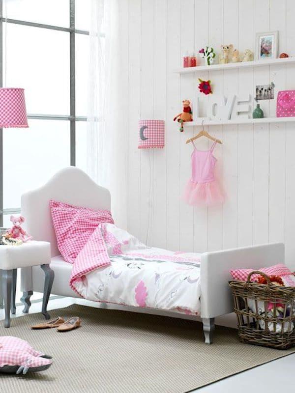 10 habitaciones infantiles en rosa pequeocio for Cuarto de nina rosa palido