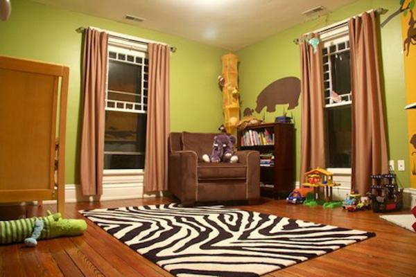 habitaciones infantiles con decoracion de jungla
