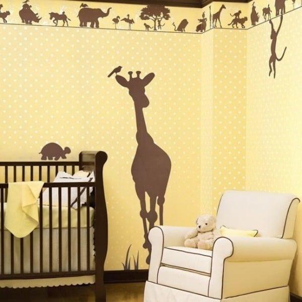 habitaciones de bebe decoradas con animales