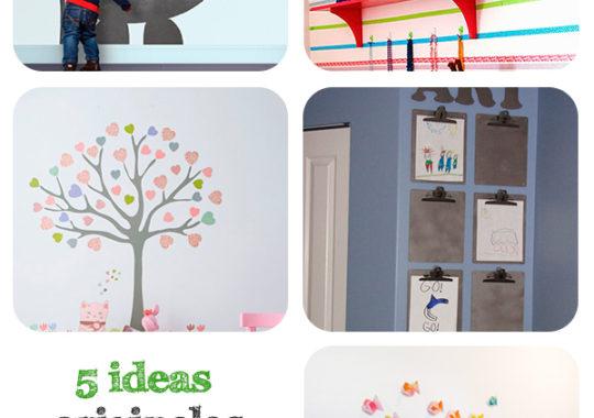 ideas originales para decorar las habitaciones infantiles