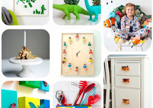 manualidades para reciclar juguetes viejos