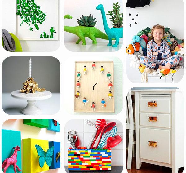 8 Ideas Para Reciclar Juguetes Viejos Pequeociocom - Ideas-para-el-reciclaje