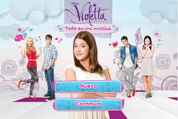 Juegos online de Violetta
