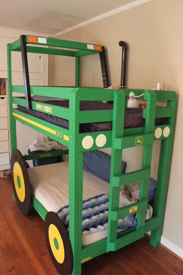 How To Build A Garbage Truck Twin Bed