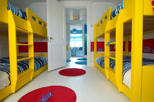 10 habitaciones infantiles con literas pequeocio - Literas infantiles originales ...