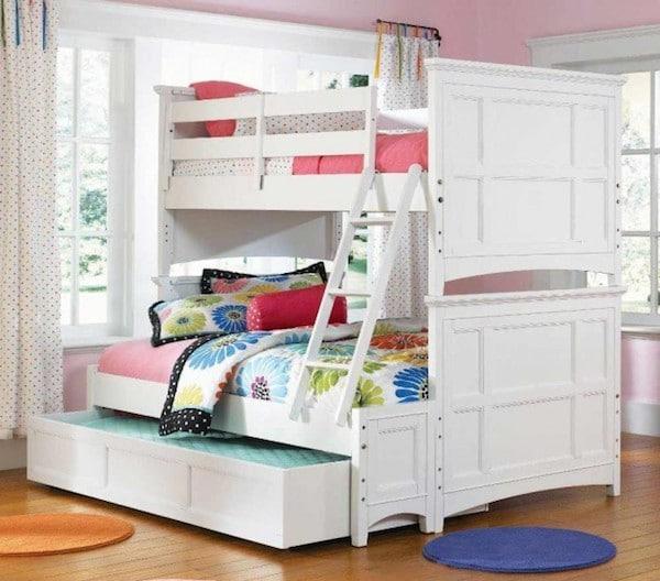 10 habitaciones infantiles con literas pequeocio - Dormitorios infantiles literas ...