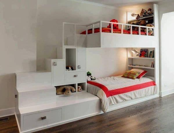 ideas para poner literas en la habitacion