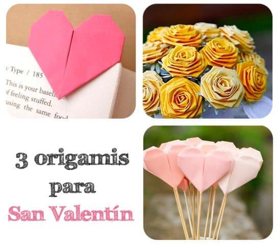 origamis para san valentin
