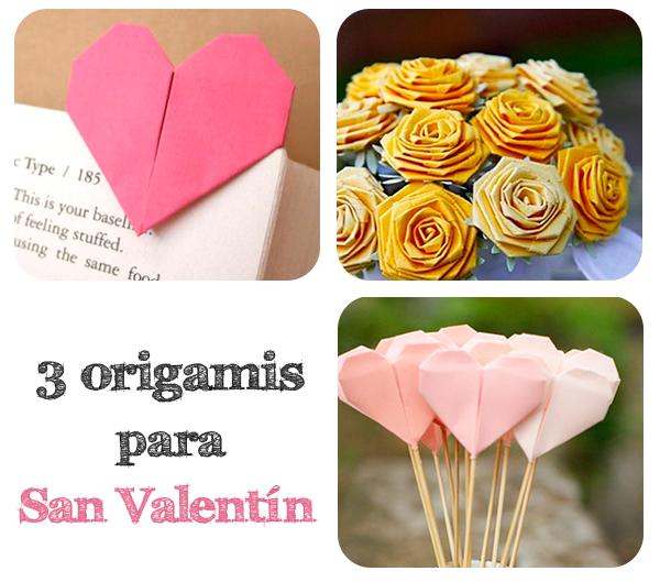 3 Origamis Para San Valent N