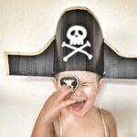 cómo hacer un sombrero pirata casero