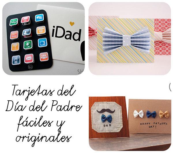 3 tarjetas del d a del padre f ciles y originales pequeocio - Regalos originales para el dia del padre ...