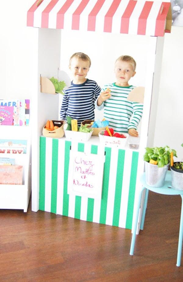 personalizar la estanteria de juguete ikea