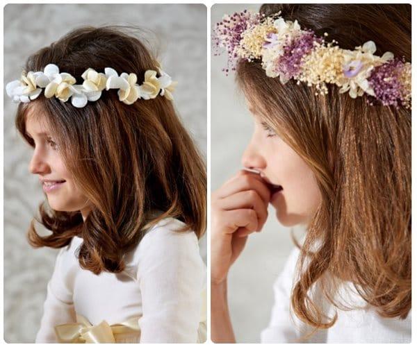 Peinados de Comunión cómo peinar a las niñas