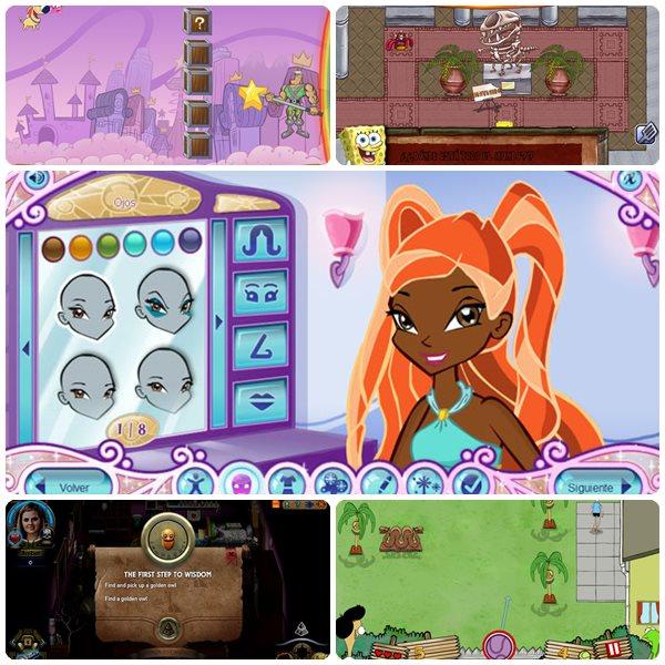 5 Divertidos Juegos Infantiles Online Gratis Pequeocio Com
