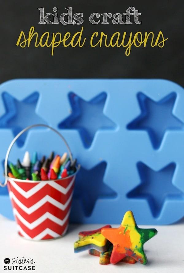 crayones reciclados