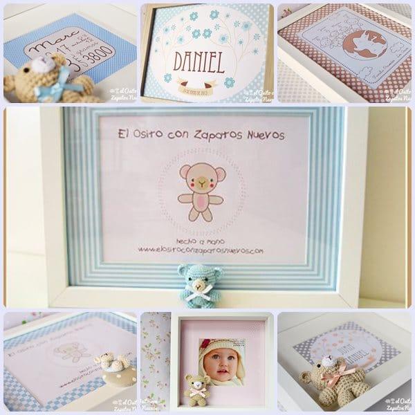 Amigurumis y regalos originales para beb s pequeocio - Cuadros originales para bebes ...
