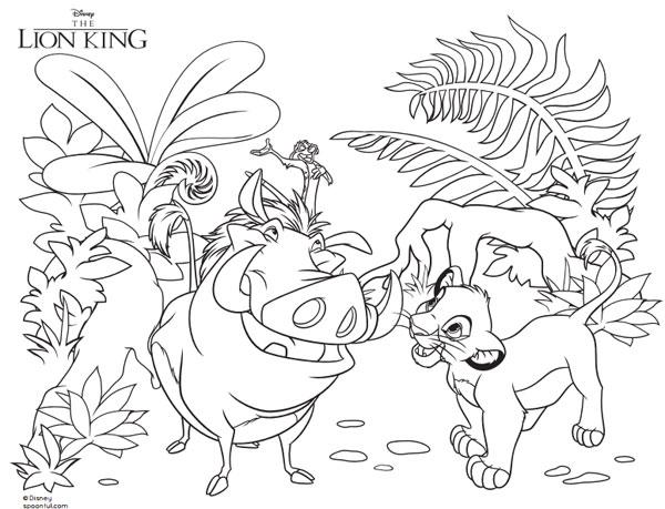 12 dibujos para colorear de Disney gratis  Pequeocio