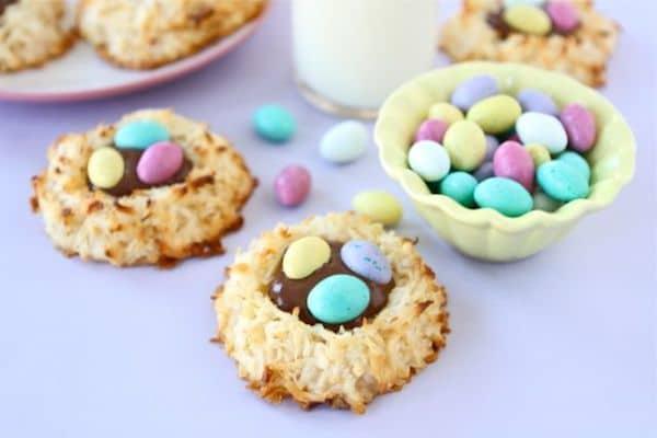 dulces nidos de pascua